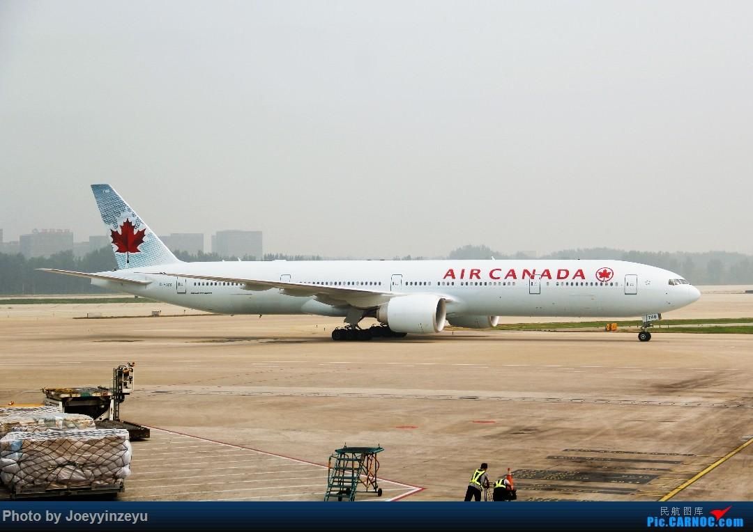 Re:[原创]帝都机场大拍机,烂天好货多,收录各种远程机型及外航,青瓷小飞机 BOEING 777-300ER C-FJZS 中国北京首都国际机场