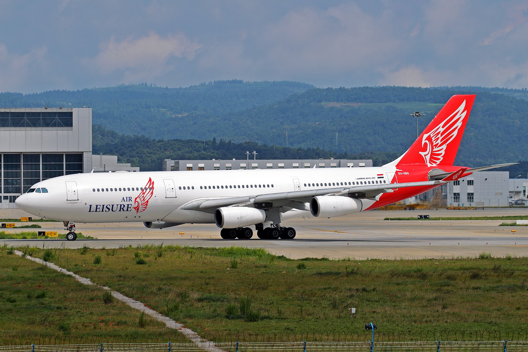 【BLDDQ】******大昆明、大长水----唯独不发土鸡***** AIRBUS A340-200 SU-GBO 中国昆明长水国际机场