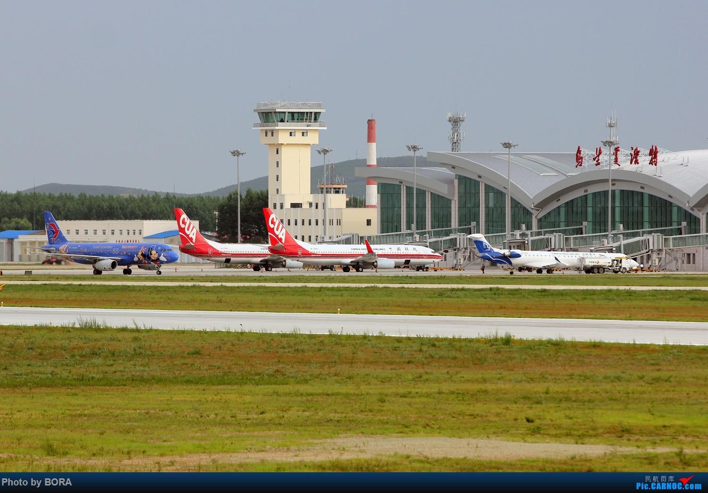 Re:[原创][BORA] 28图带你看北疆小城机场-乌兰浩特的日常 AIRBUS A320-200 B-6635 中国乌兰浩特依勒力特机场