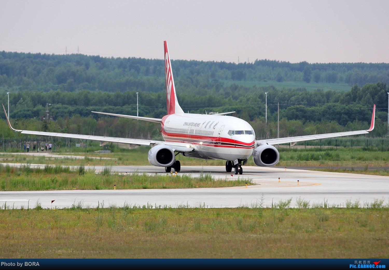 Re:[原创][BORA] 28图带你看北疆小城机场-乌兰浩特的日常 BOEING 737-800 B-1753 中国乌兰浩特依勒力特机场