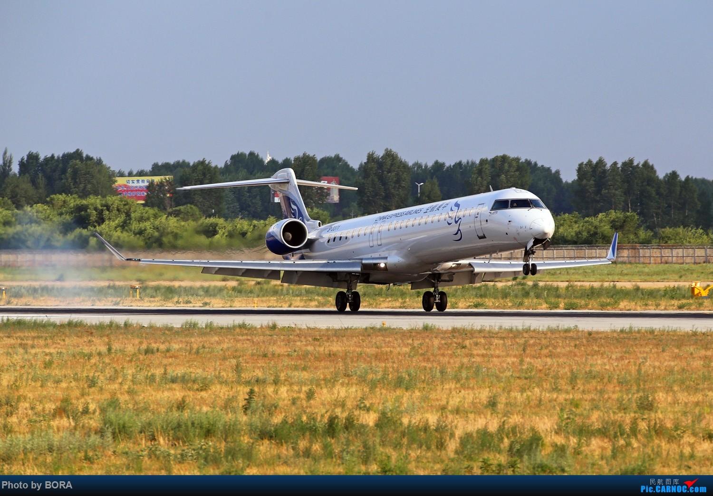 Re:[原创][BORA] 28图带你看北疆小城机场-乌兰浩特的日常 BOMBARDIER CRJ900NG B-3371 中国乌兰浩特依勒力特机场