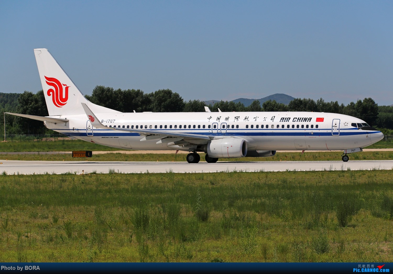 Re:[原创][BORA] 28图带你看北疆小城机场-乌兰浩特的日常 BOEING 737-800 B-1767 中国乌兰浩特依勒力特机场