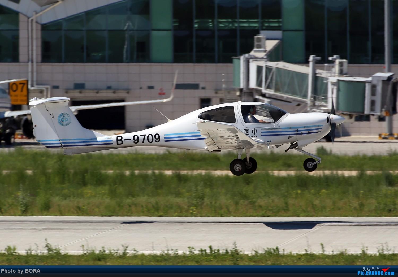 Re:[原创][BORA] 28图带你看北疆小城机场-乌兰浩特的日常 DIAMOND DA40D B-9709 中国乌兰浩特依勒力特机场
