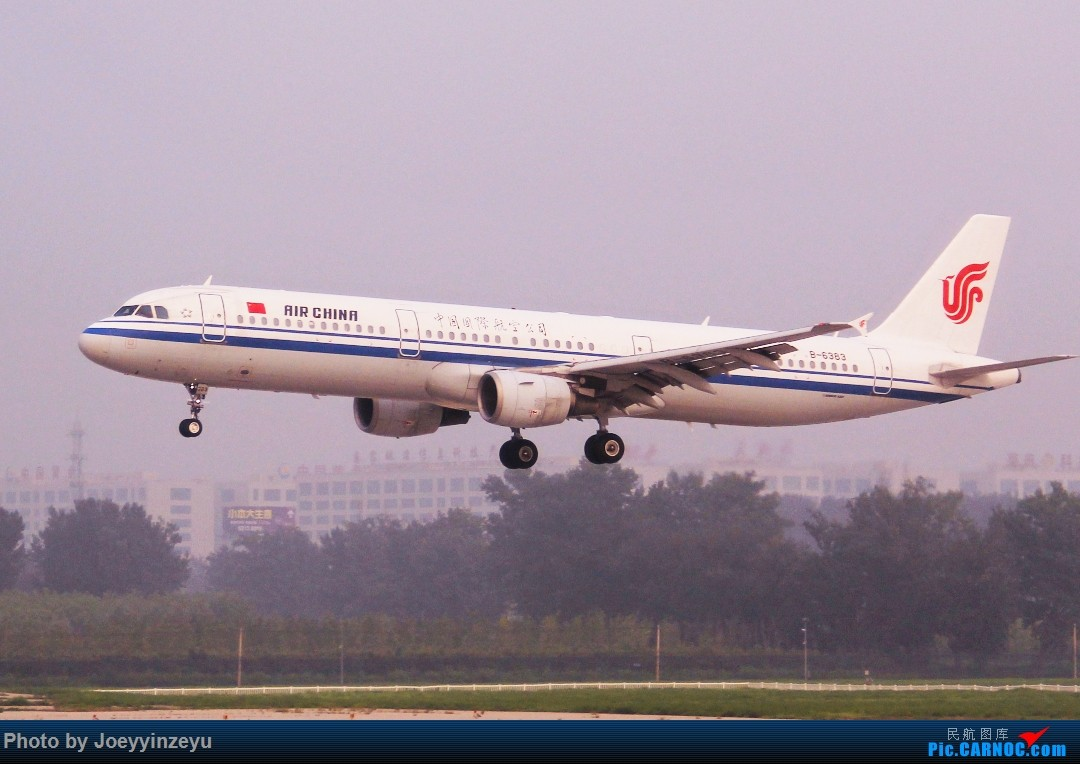 Re:[原创]帝都机场大拍机,烂天好货多,收录各种远程机型及外航,青瓷小飞机 AIRBUS A321-200 B-6383 中国北京首都国际机场