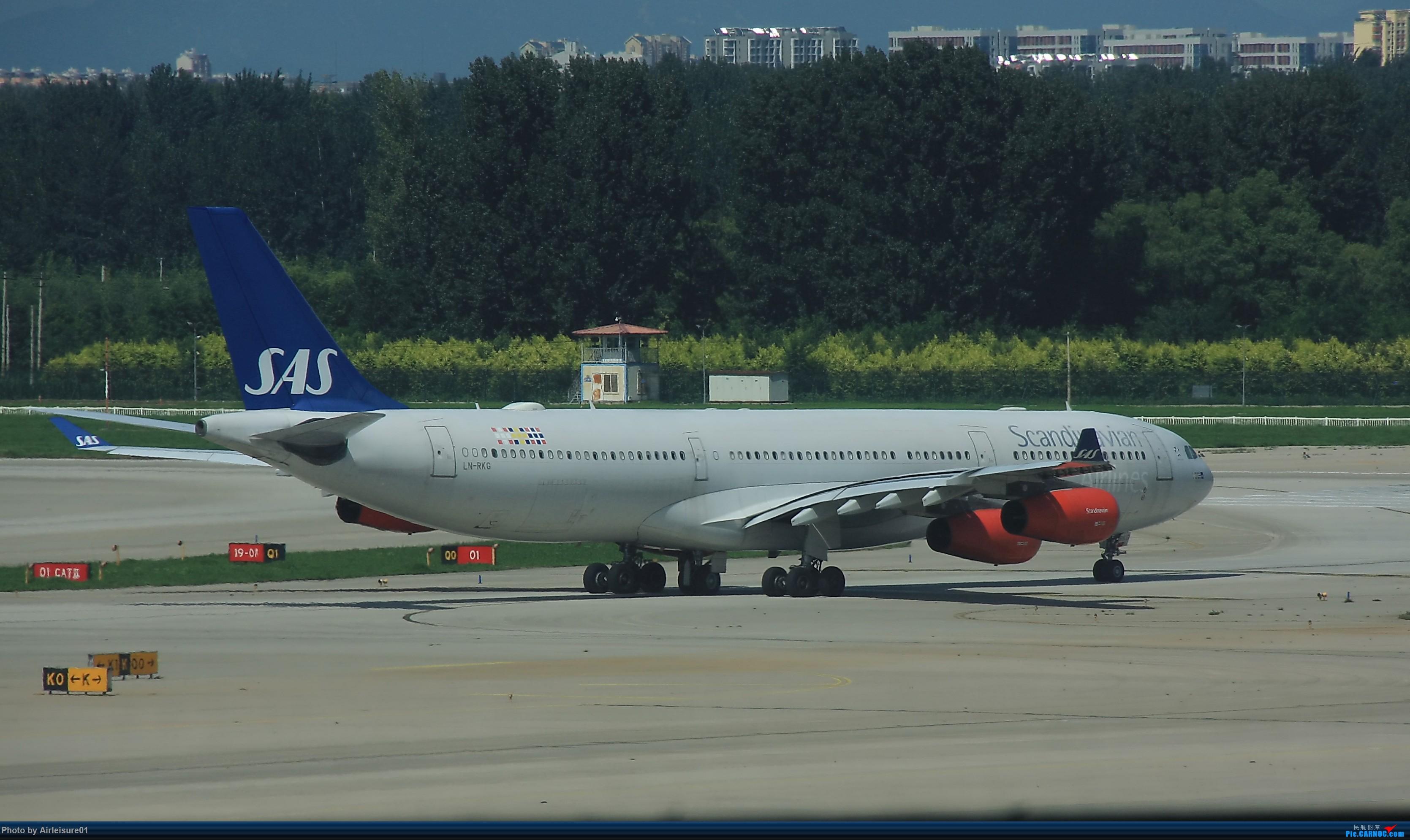 Re:[原创]新人首发。。请大神们多多指导 A340-300 LN-RKG 中国北京首都国际机场
