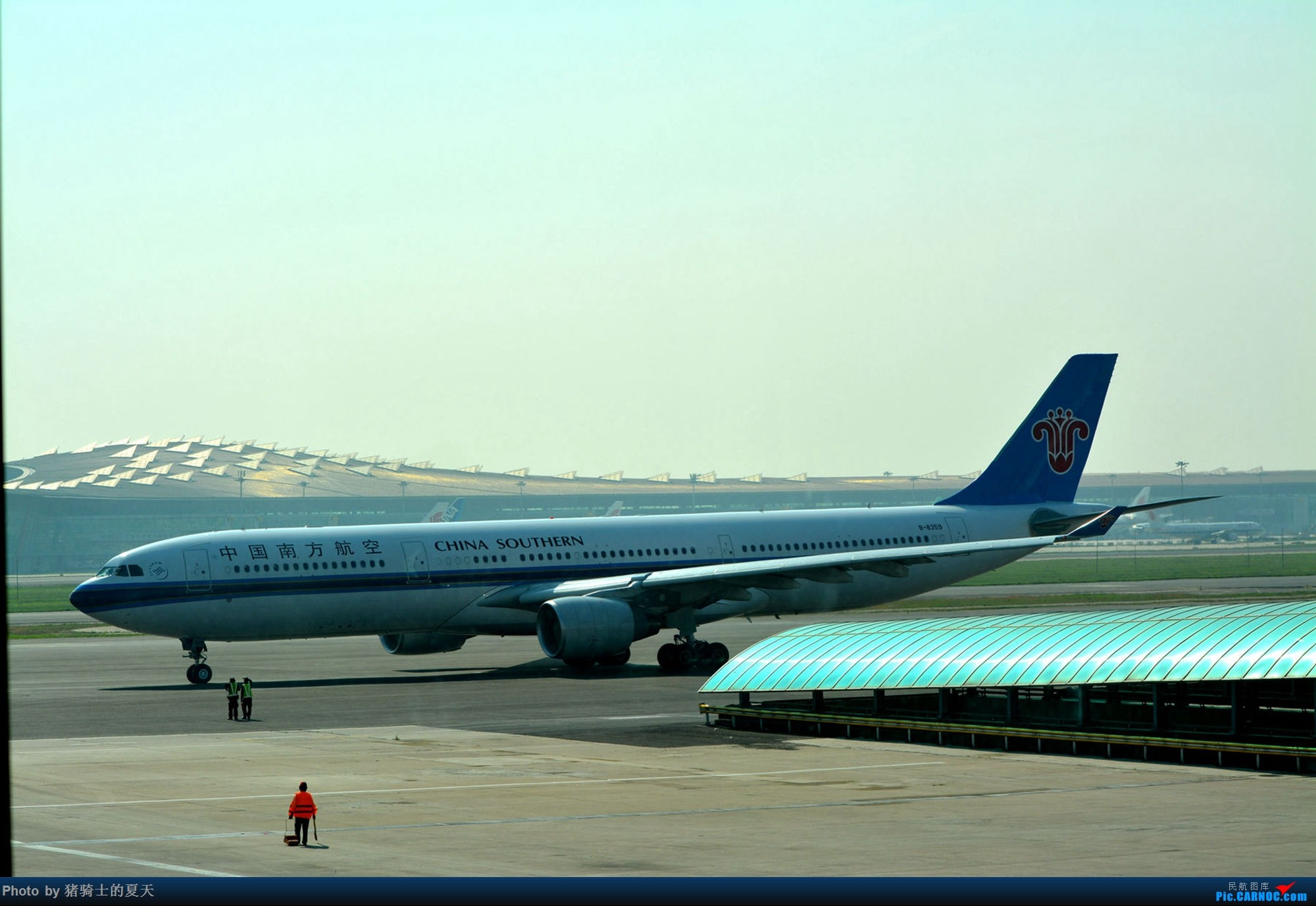 Re:[原创]迟到帖--空铁联运,空客380商务舱初体验 AIRBUS A330-300 B-8359