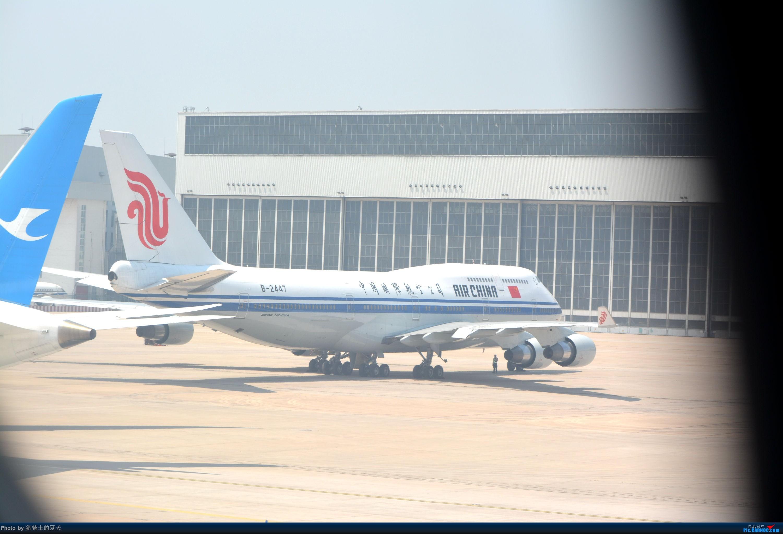Re:[原创]迟到帖--空铁联运,空客380商务舱初体验 BOEING 747-400 B-2447