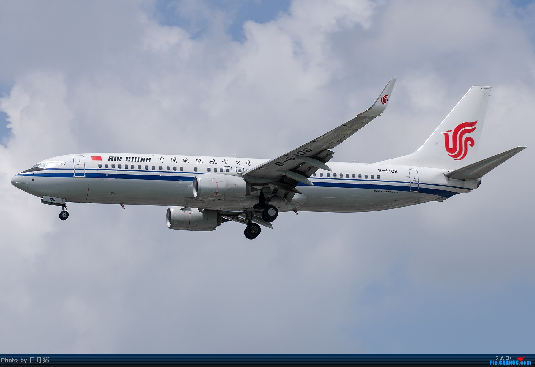 Re:[原创]【SHA拍机*1800大图】图要抓紧发,不然就要炒冷饭,大头镇贴 BOEING 737-800 B-6106 中国上海虹桥国际机场