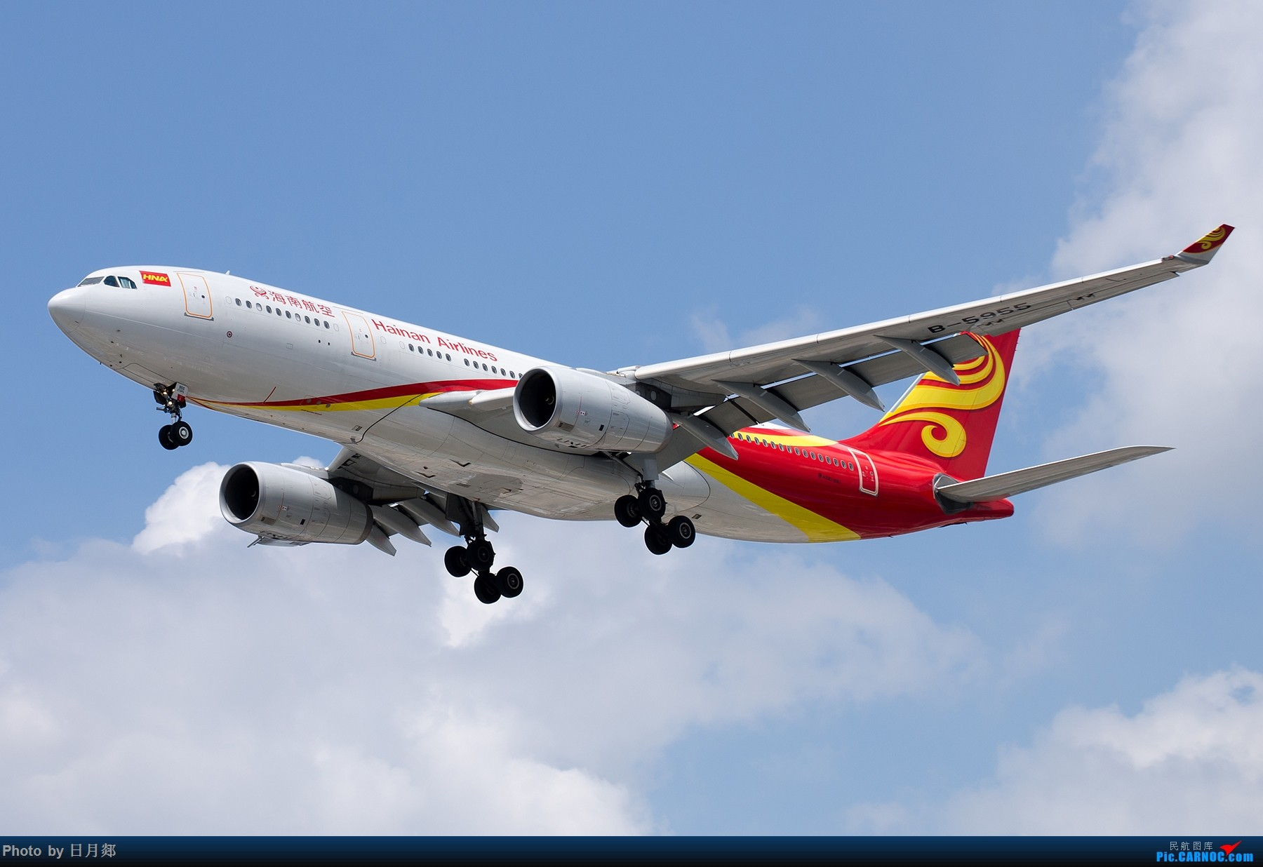 Re:[原创]【SHA拍机*1800大图】图要抓紧发,不然就要炒冷饭,大头镇贴 AIRBUS A330-200 B-5955 中国上海虹桥国际机场