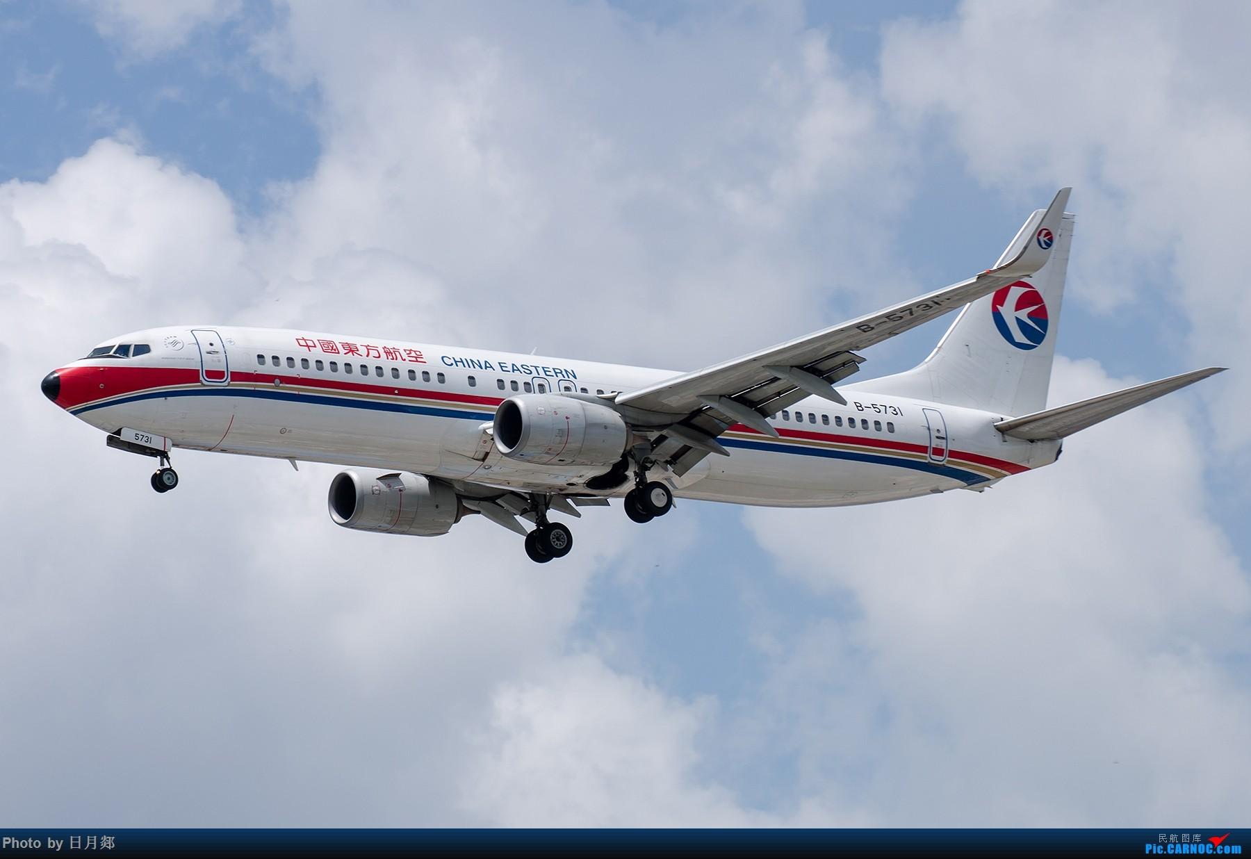 Re:[原创]【SHA拍机*1800大图】图要抓紧发,不然就要炒冷饭,大头镇贴 BOEING 737-800 B-5731 中国上海虹桥国际机场