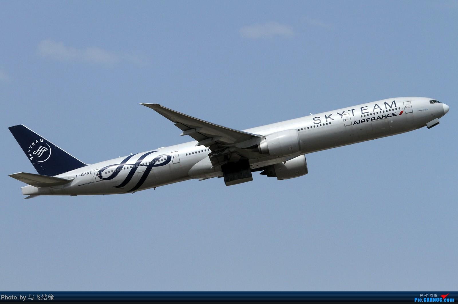 """Re:[原创]山东航空最新波音737-800彩绘机""""好客山东—景芝号""""及其其它的一些一些! BOEING 777-300ER F-GZNE 中国北京首都国际机场"""