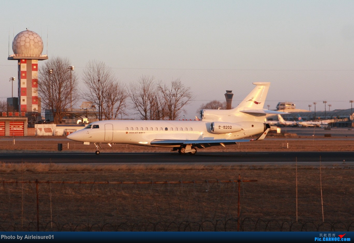 Re:新人贴老图(2) DASSAULT FALCON 7X B-8202 中国北京首都国际机场