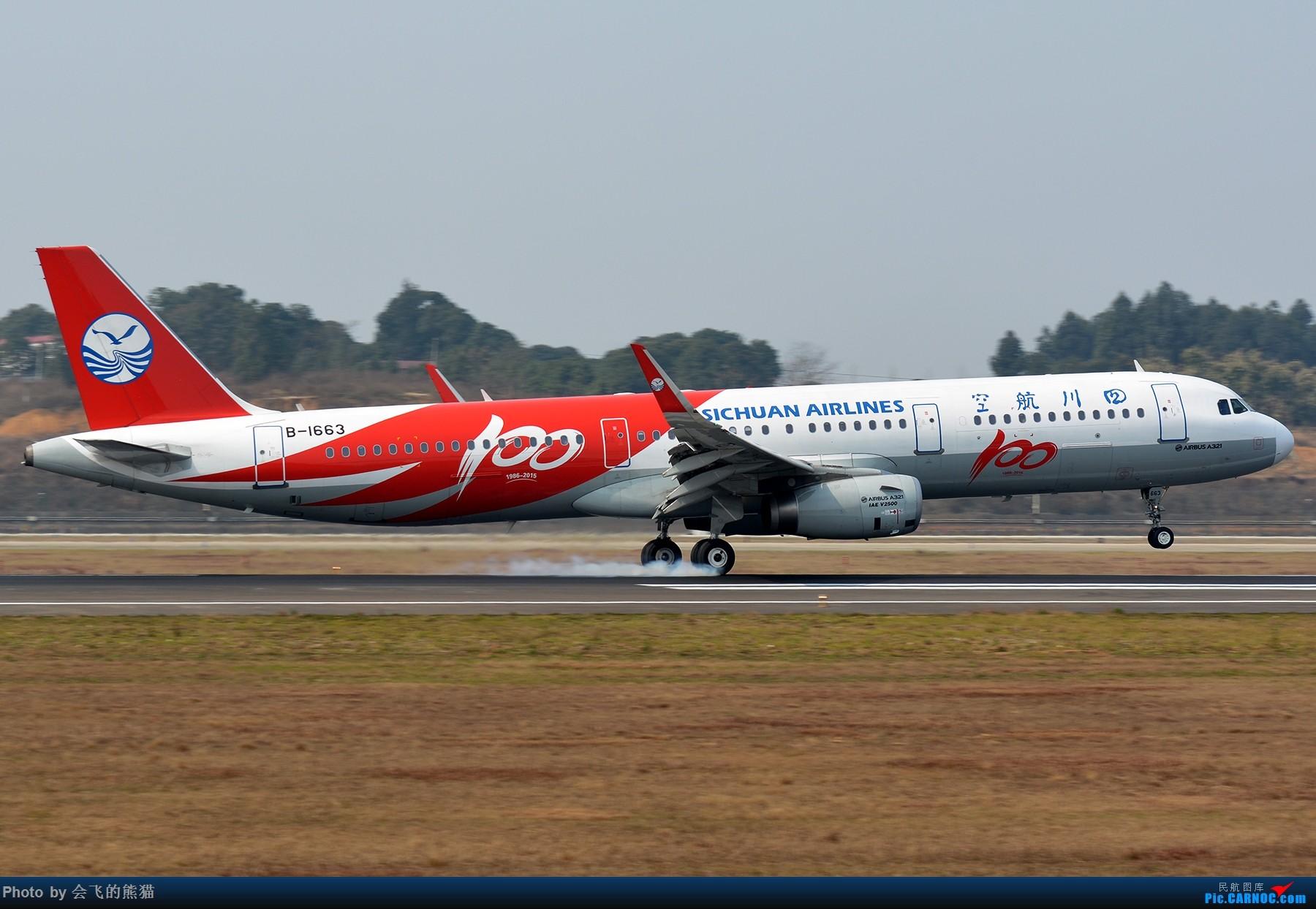 Re:[原创]十年 AIRBUS A321-200 B-1663 中国成都双流国际机场
