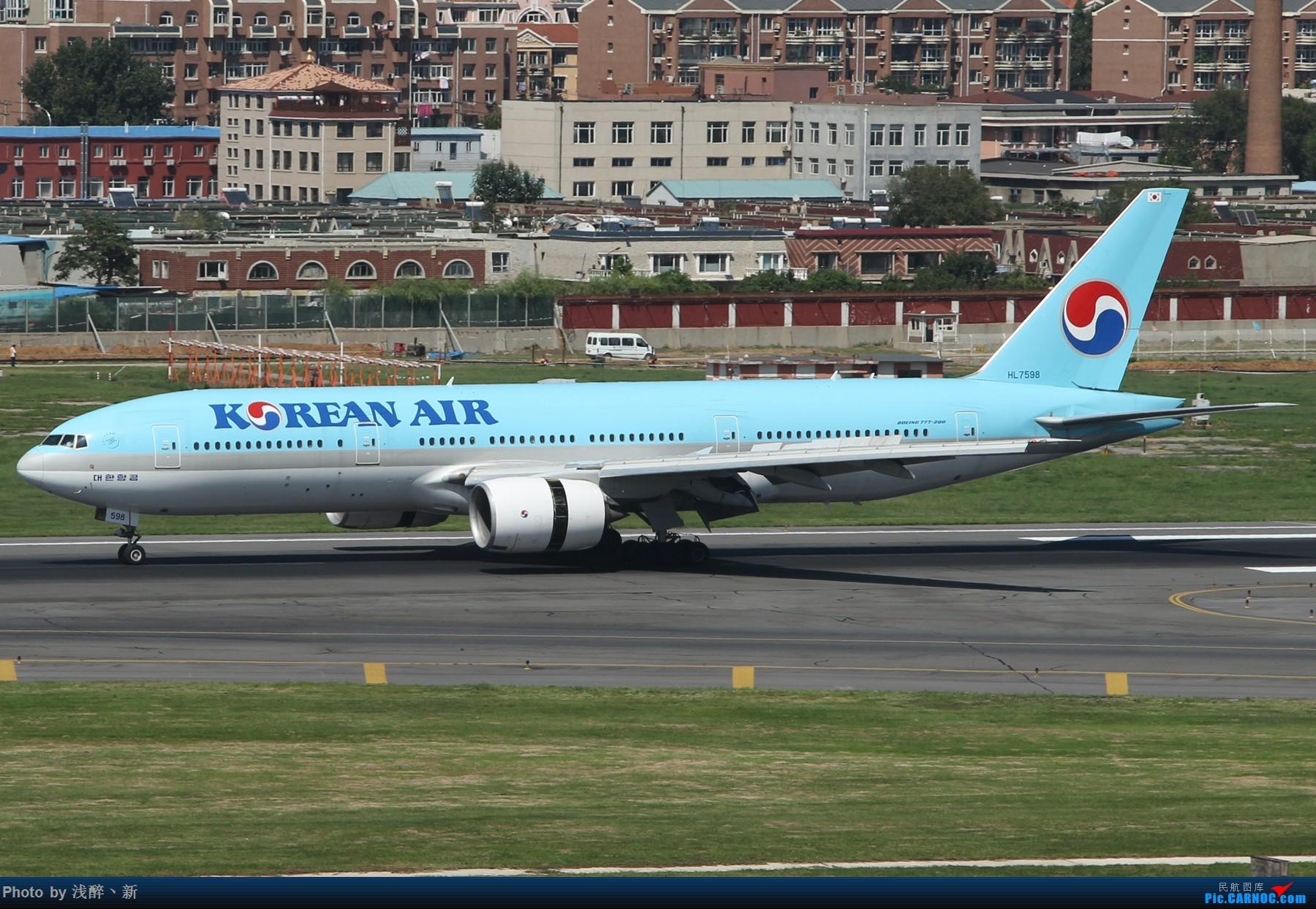 Re:[原创]DLC 8.26 日常[补] BOEING 777-200 HL7598 中国大连国际机场