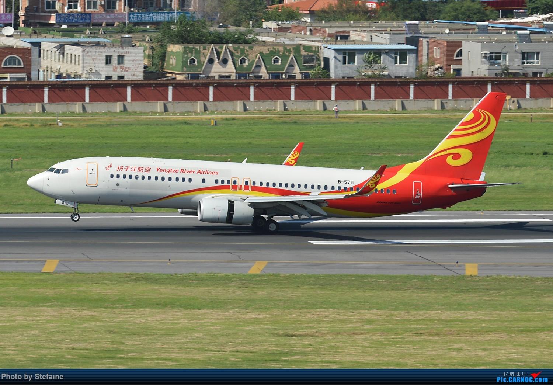 Re:[原创][DLC]一颗赛艇 环球霸王 BOEING 737-800 B-5711 中国大连国际机场