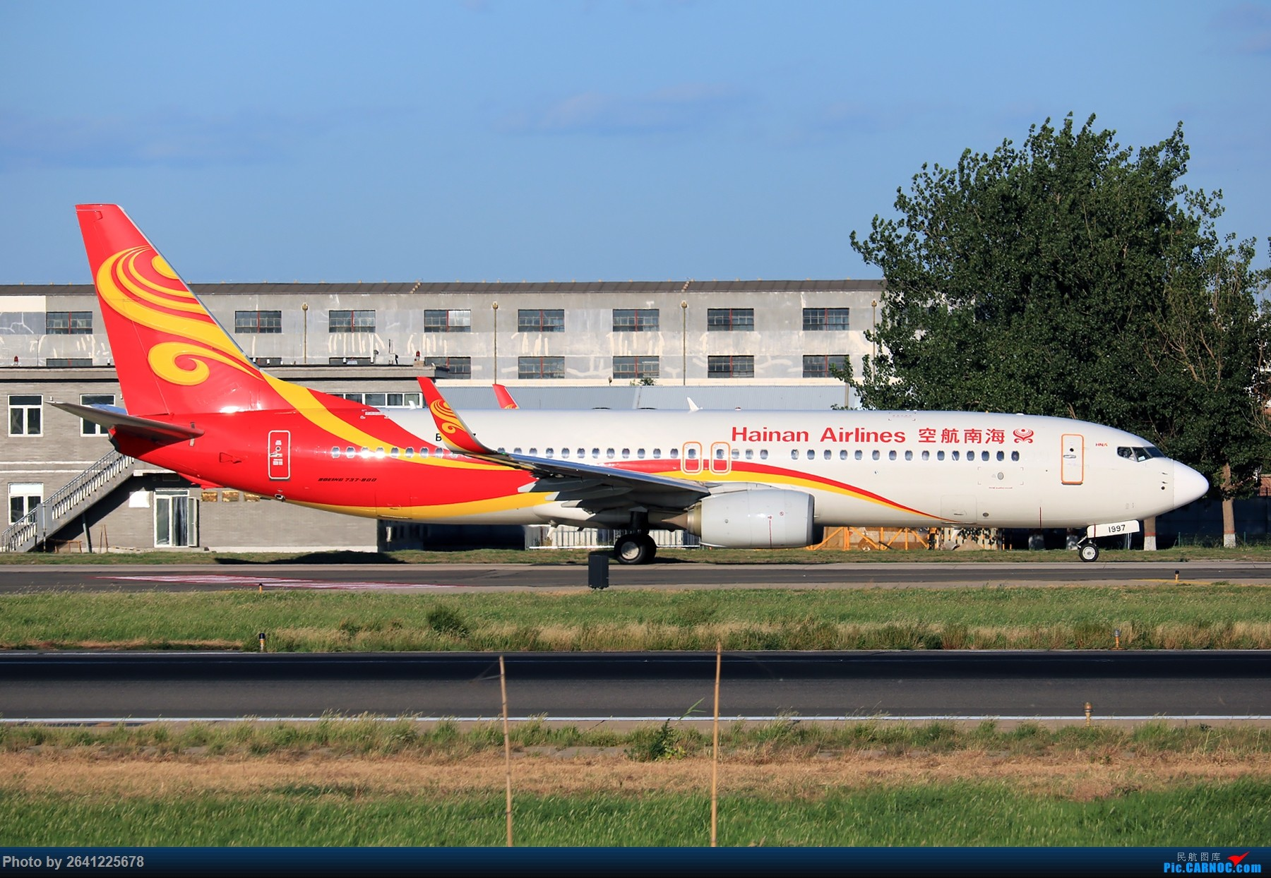 Re:[原创]【pek】这光线真令人舒服 BOEING 737-800 B-1997 中国北京首都国际机场