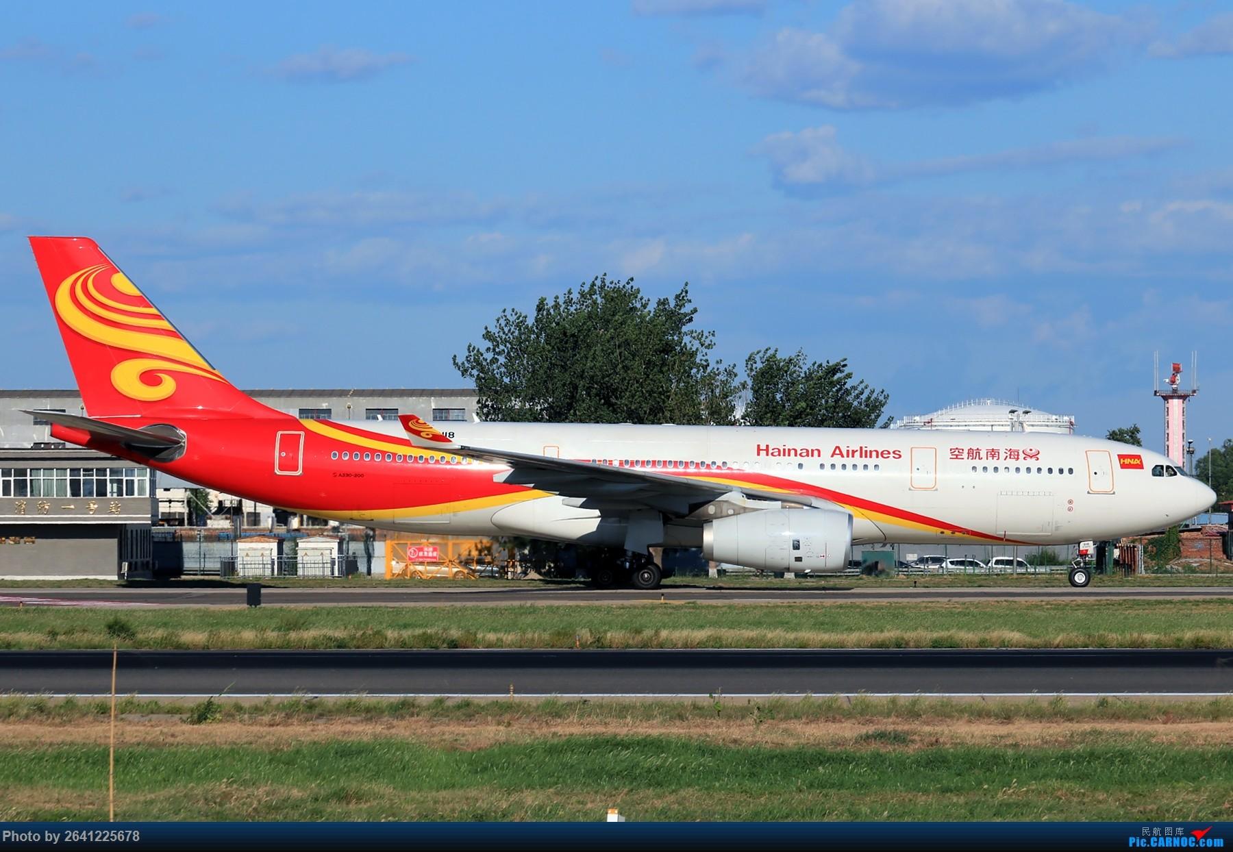 Re:[原创]【pek】这光线真令人舒服 AIRBUS A330-200 B-6118 中国北京首都国际机场
