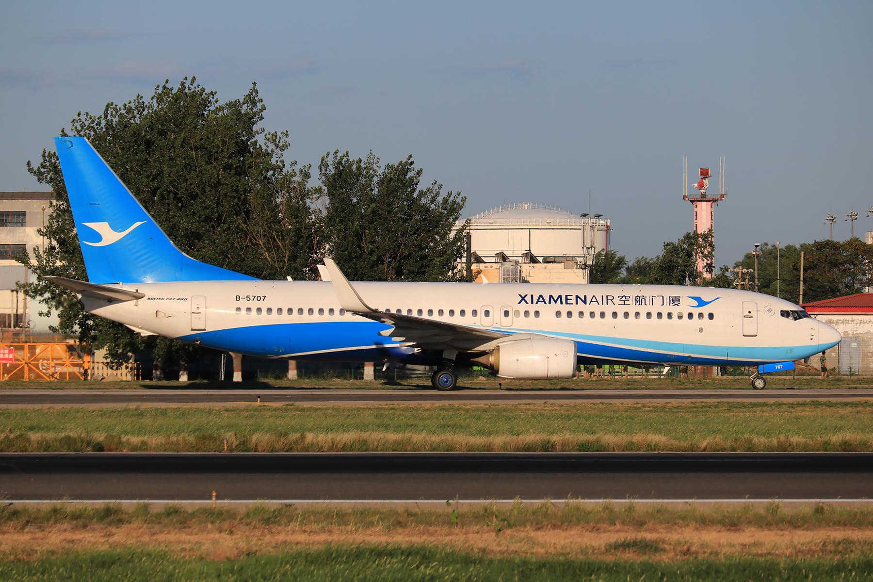 Re:[原创]【pek】这光线真令人舒服 BOEING 737-800 B-5707 中国北京首都国际机场