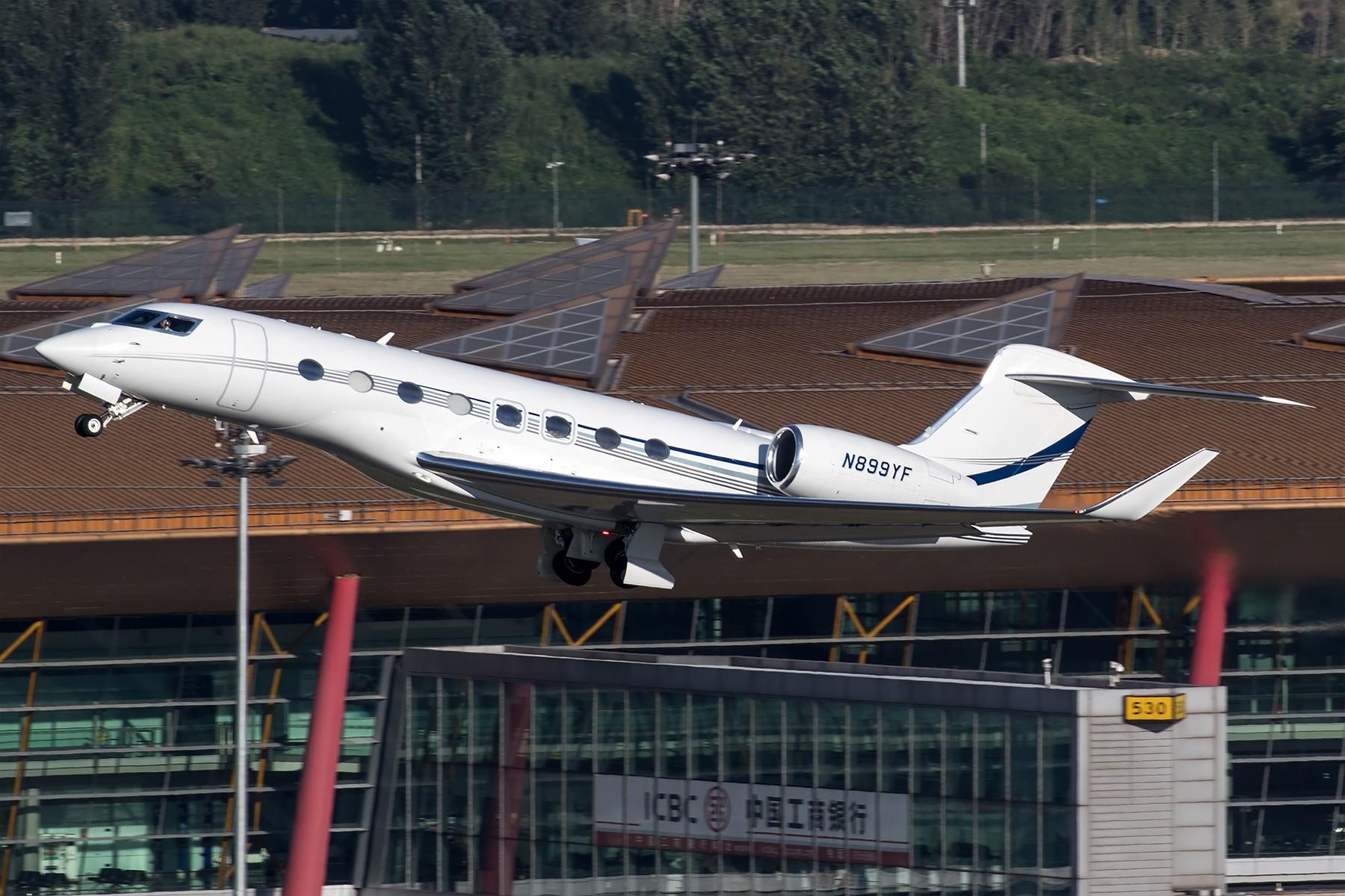 [原创]**一图党**湾流宇航G650~N899YF GULFSTREAM AEROSPACE G650 (G-VI) N899YF 中国北京首都国际机场