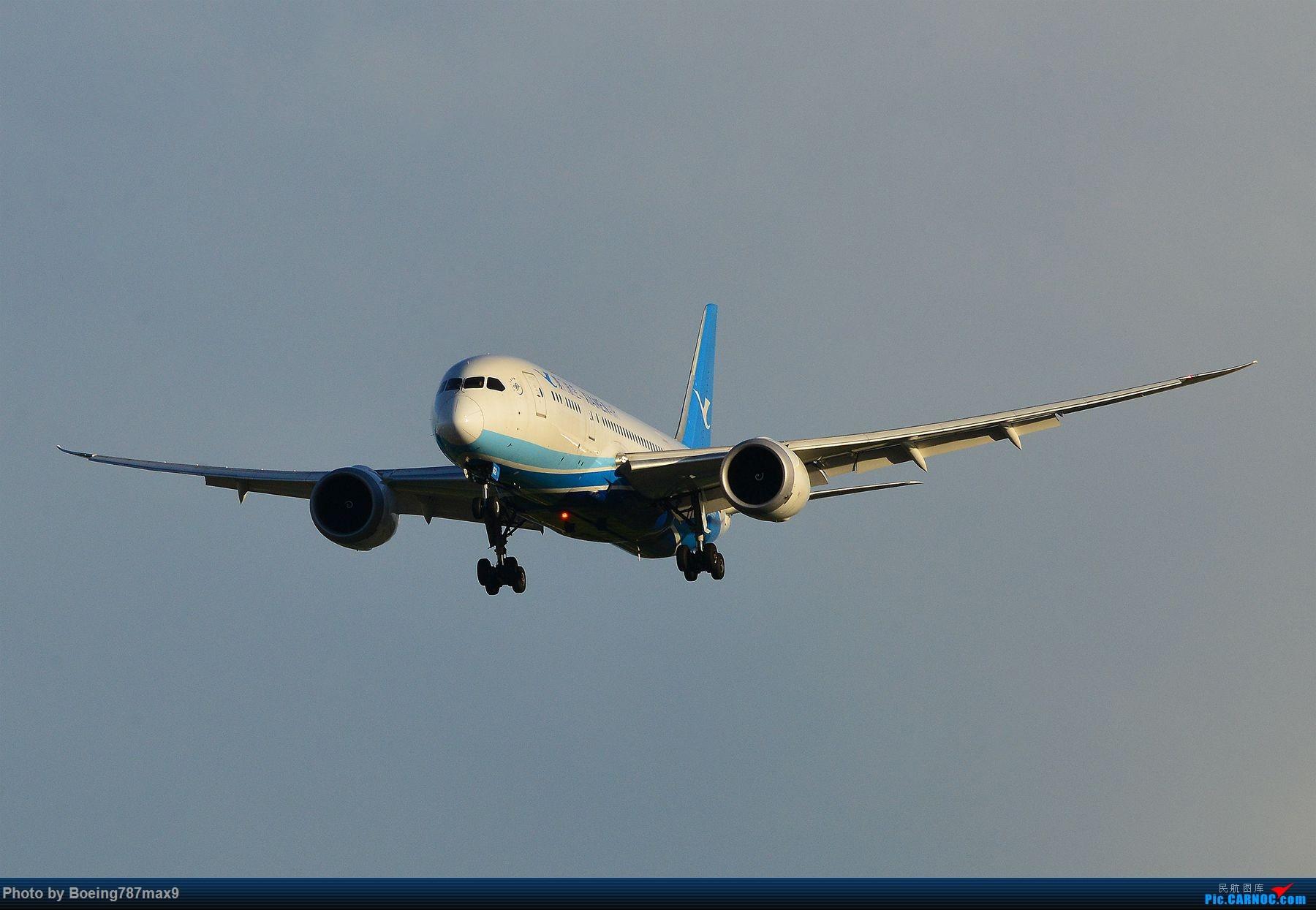 [原创]【PEK】雨后天晴+超级震撼=厦门航空787-8 Dreamliner[1800*高清大图] BOEING 787-8 B-2762 中国北京首都国际机场