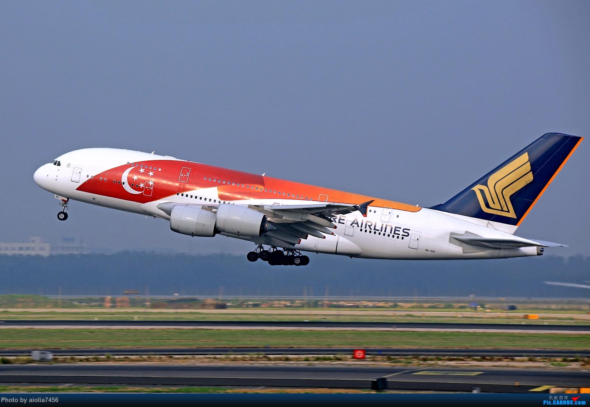 Re:[原创]合肥飞友会[霸都飞友会]冷风过境,吹回了久违的蓝天,而我刚刚好路过PEK AIRBUS A380-800 9V-SKI 中国北京首都国际机场