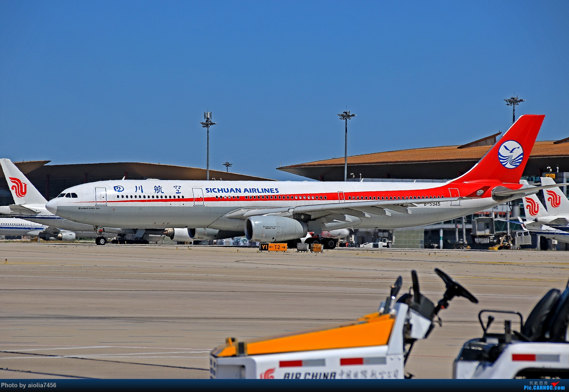 Re:[原创]合肥飞友会[霸都飞友会]冷风过境,吹回了久违的蓝天,而我刚刚好路过PEK AIRBUS A330-300 B-5945 中国北京首都国际机场