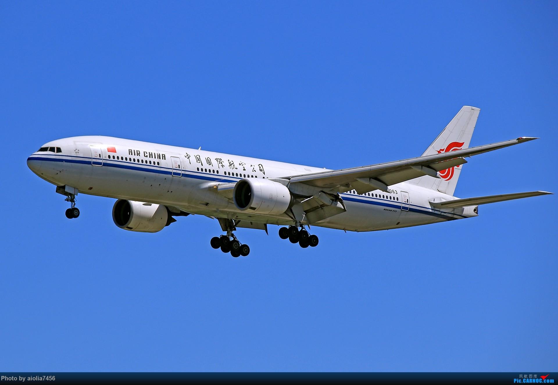 Re:[原创]合肥飞友会[霸都飞友会]冷风过境,吹回了久违的蓝天,而我刚刚好路过PEK BOEING 777-200 B-2063 中国北京首都国际机场