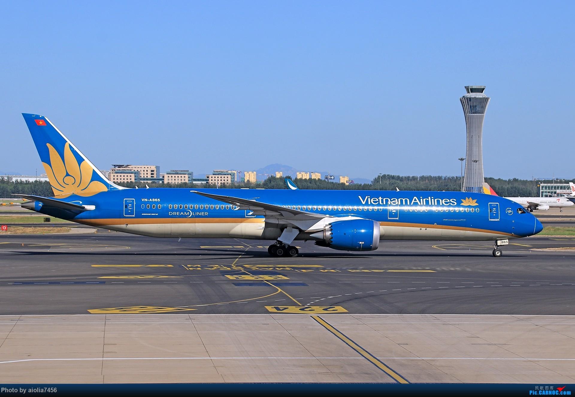Re:[原创]合肥飞友会[霸都飞友会]冷风过境,吹回了久违的蓝天,而我刚刚好路过PEK BOEING 787-9 VN-A865 中国北京首都国际机场