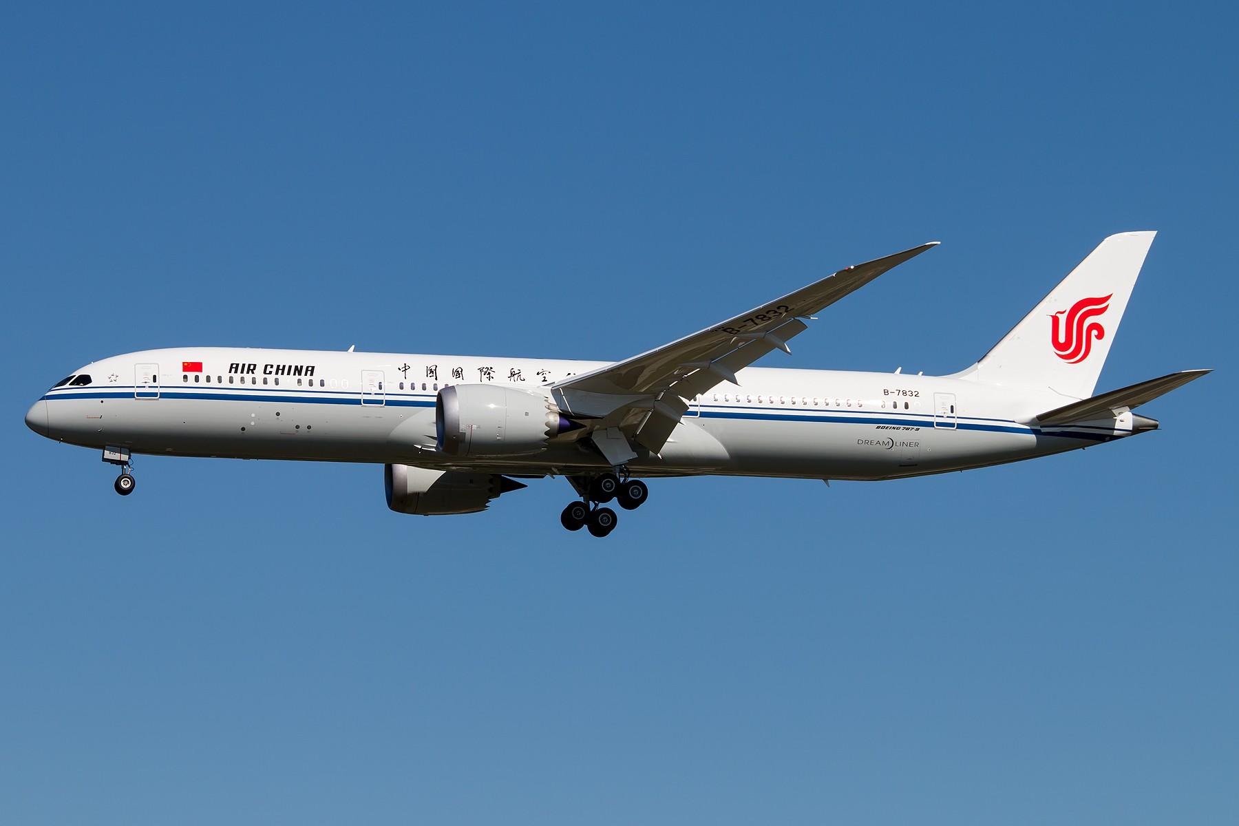 [原创][一图党] 国航第五架B787-9 B-7832 1800*1200 BOEING B787-9 DREAMLINER B-7832 中国北京首都国际机场