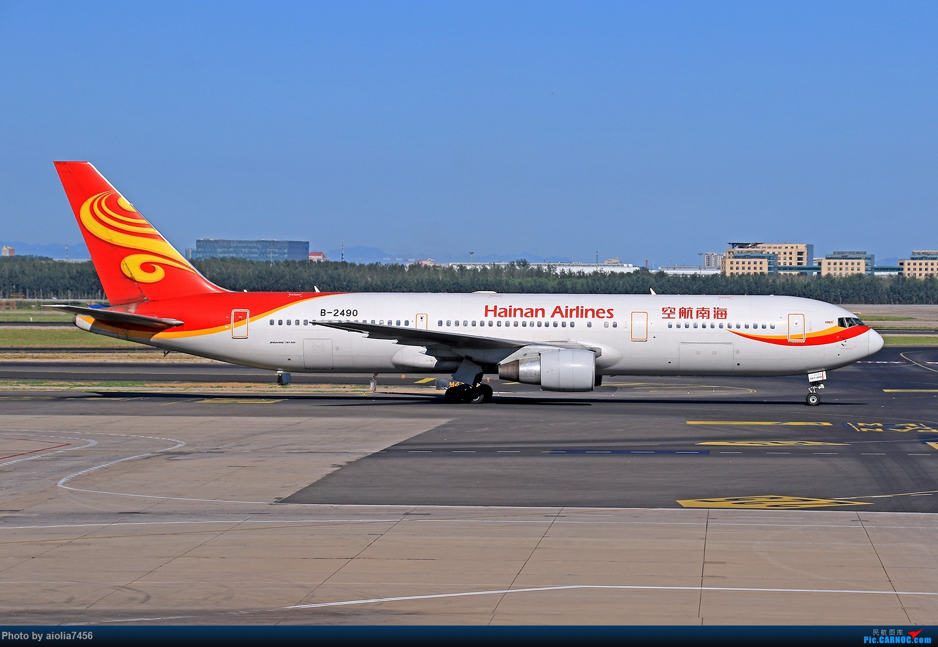 Re:[原创]合肥飞友会[霸都飞友会]冷风过境,吹回了久违的蓝天,而我刚刚好路过PEK BOEING 767-300 B-2490 中国北京首都国际机场