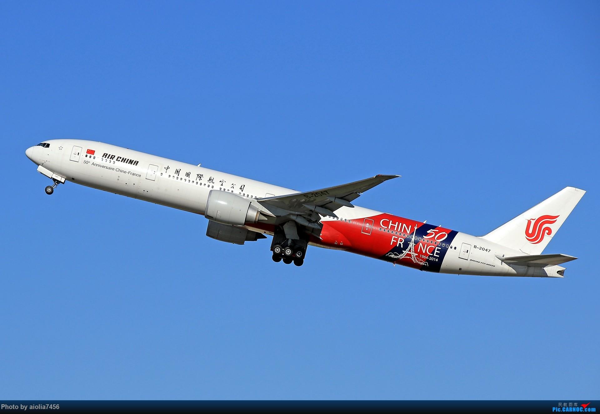 Re:[原创]合肥飞友会[霸都飞友会]冷风过境,吹回了久违的蓝天,而我刚刚好路过PEK BOEING 777-300ER B-2047 中国北京首都国际机场