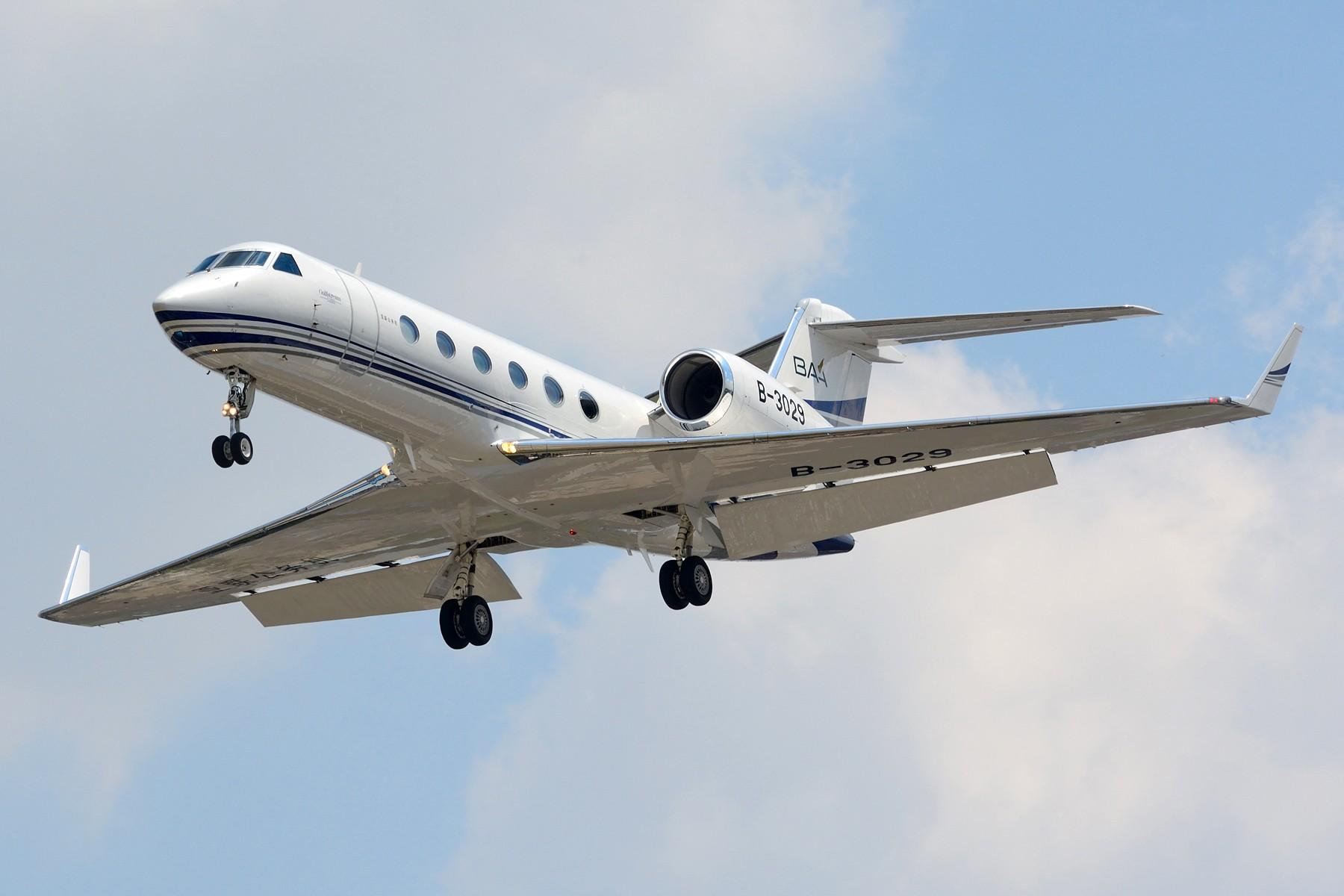 Re:[原创]【SHA】山东航空第一架景芝号彩绘 B-7977 GULFSTREAM G350 B-3029 中国上海虹桥国际机场