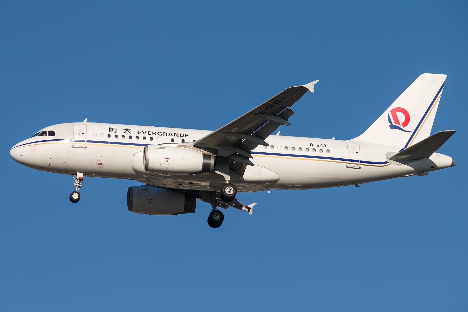 Re:[原创]杂图一组 1800*1200 AIRBUS A319-133CJ B-6435 中国北京首都国际机场