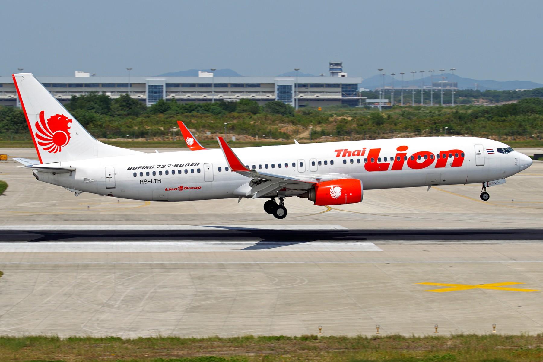 [原创]【BLDDQ】******午休站坡,还有些收获的****** BOEING 737-900ER HS-LTH 中国南京禄口国际机场