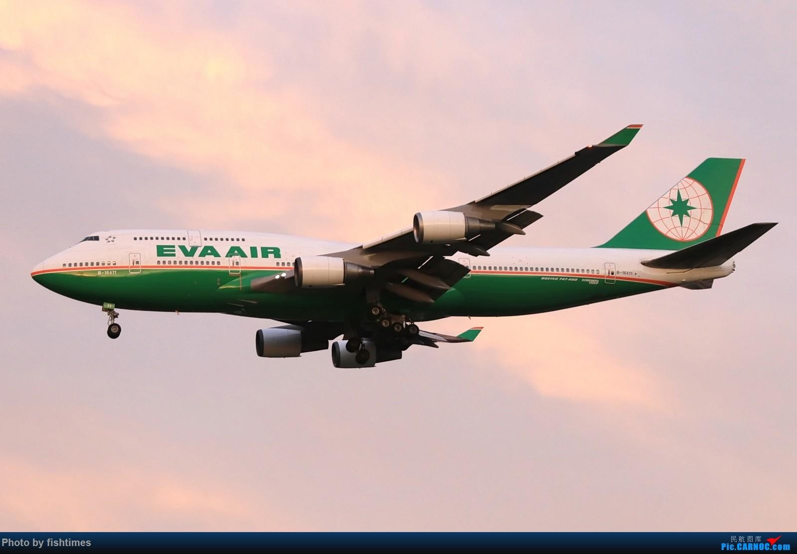 [原创]【PEK】【一图党】20160831_B-16411_EVA744 BOEING 747-400 B-16411 中国北京首都国际机场
