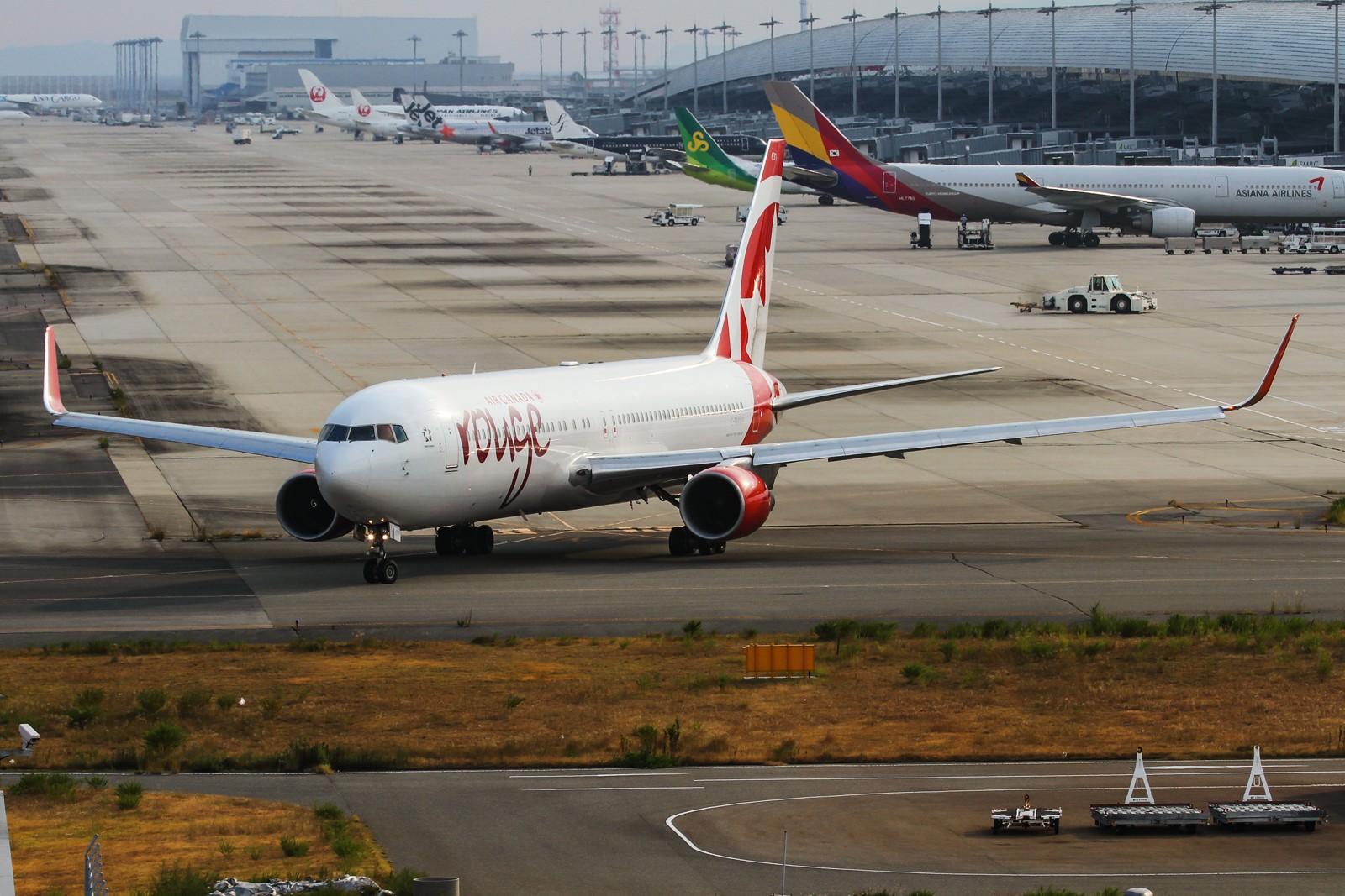 Re:[原创]【NKG/LHR/LCY/FFD/FAB/MAN/FRA/KIX】暑期临近尾声,大不列颠/霓虹流窜记回顾总结 BOEING 767-300 C-FMWP 日本关西机场