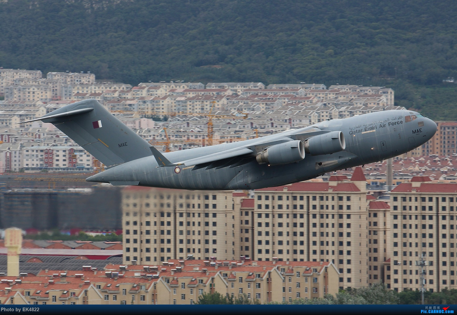 [原创][ZYTL] So dirty...... BOEING C-17A GLOBEMASTERIII A7-MAE 大连周水子国际机场