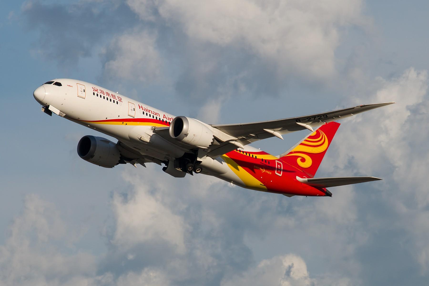 [原创][一图党] 海南航空 B-2729 1800*1200 BOEING 787-8 B-2729 中国北京首都国际机场