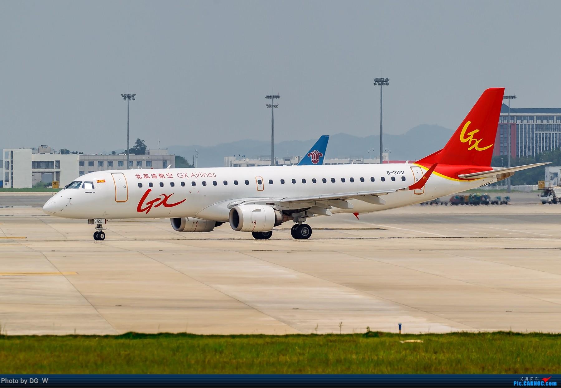 Re:[原创]【南宁飞友】重度拖延症-北部湾航空A320首航拍机 EMBRAER E-190 B-3122 中国南宁吴圩国际机场