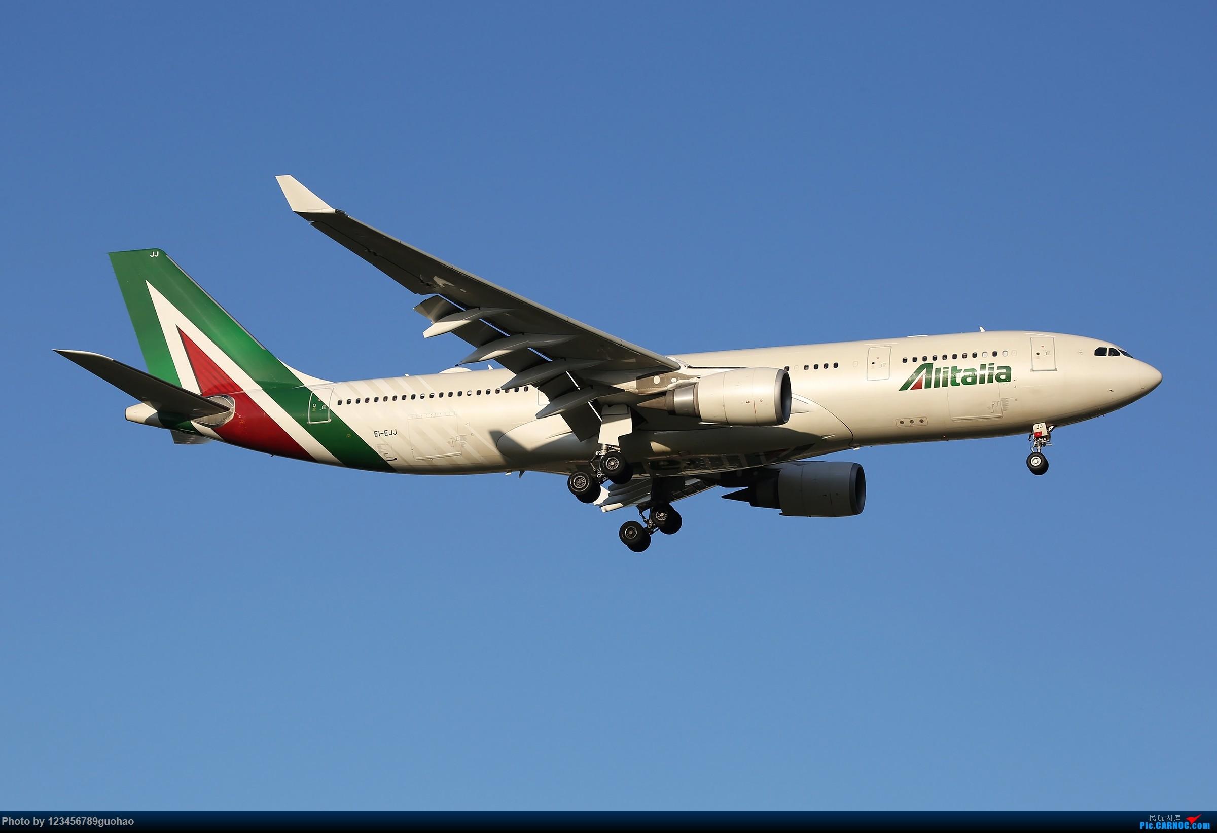 [原创]一图党-意大利 AIRBUS A330-200 EI-EJJ 北京首都机场