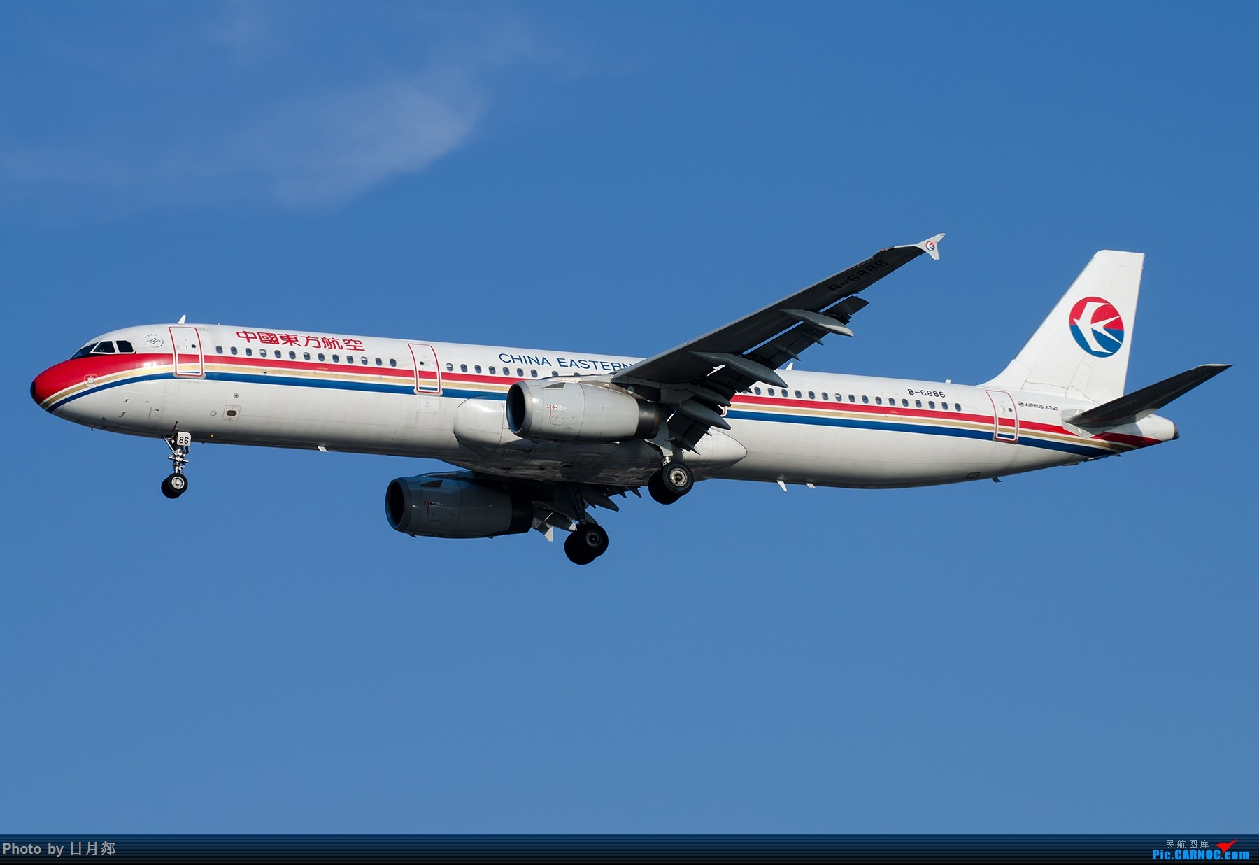 Re:[原创]【SHA拍机*1800大图】轻度污染来临前宝贵的蓝天,且拍且珍惜 AIRBUS A321-200 B-6886 中国上海虹桥国际机场
