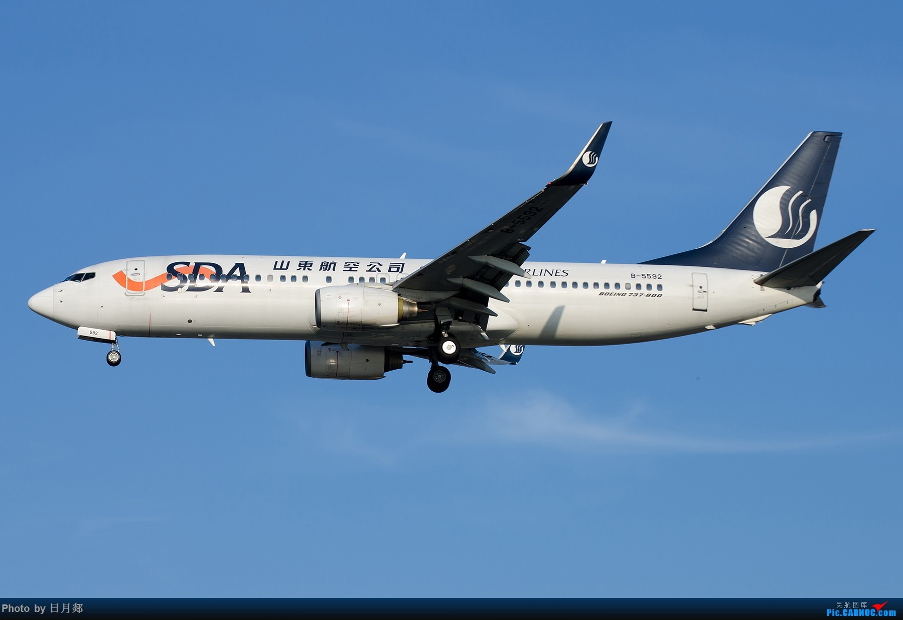 Re:[原创]【SHA拍机*1800大图】轻度污染来临前宝贵的蓝天,且拍且珍惜 BOEING 737-800 B-5592 中国上海虹桥国际机场