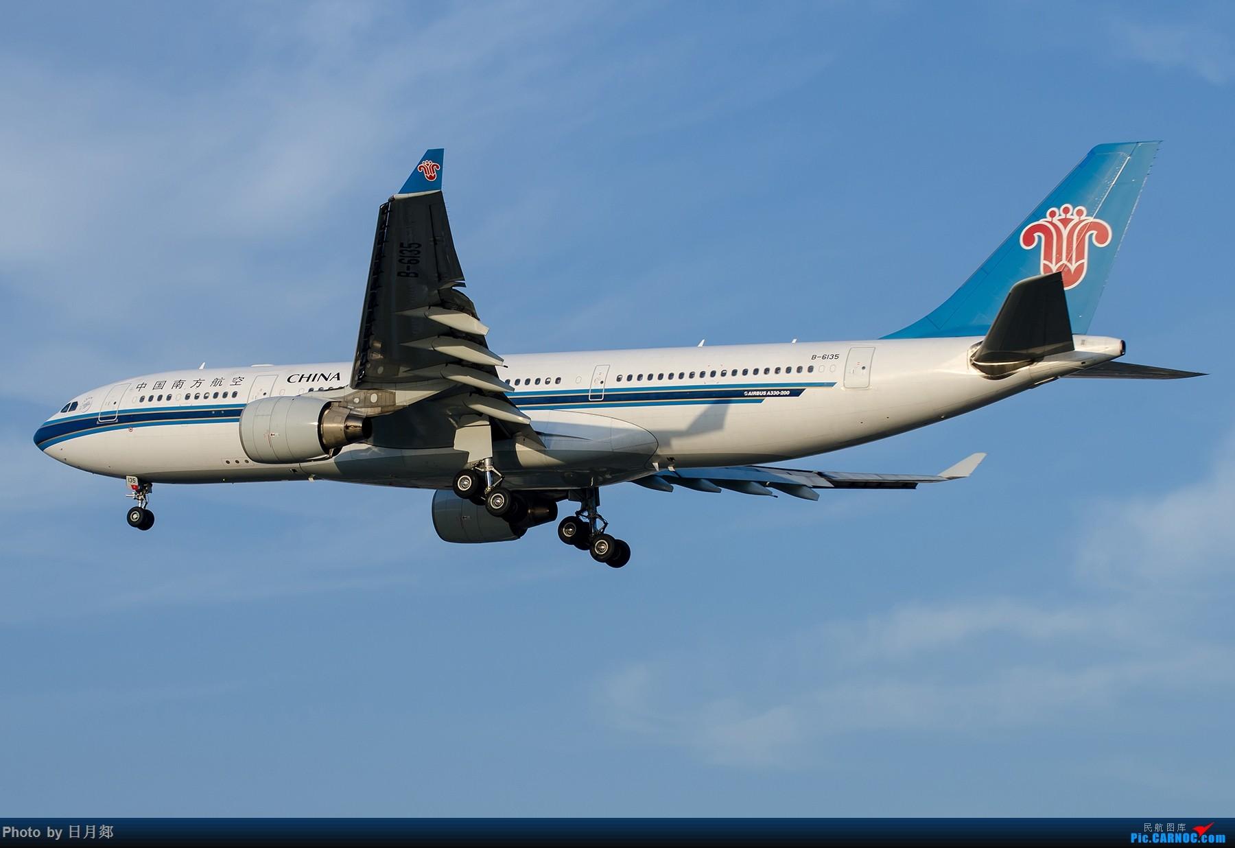 Re:[原创]【SHA拍机*1800大图】轻度污染来临前宝贵的蓝天,且拍且珍惜 AIRBUS A330-200 B-6135 中国上海虹桥国际机场