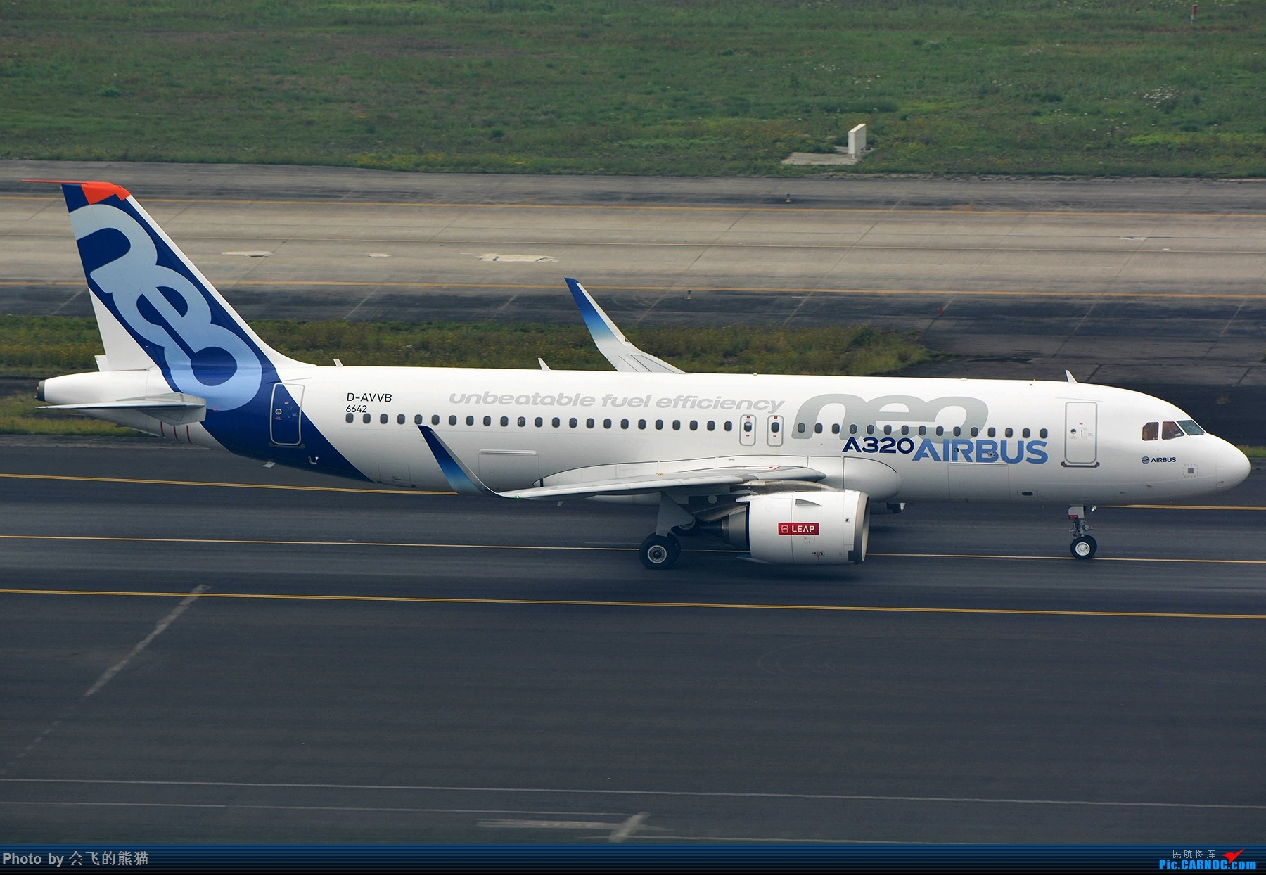 Re:[原创]开心就好 AIRBUS A320NEO D-AVVB 中国成都双流国际机场