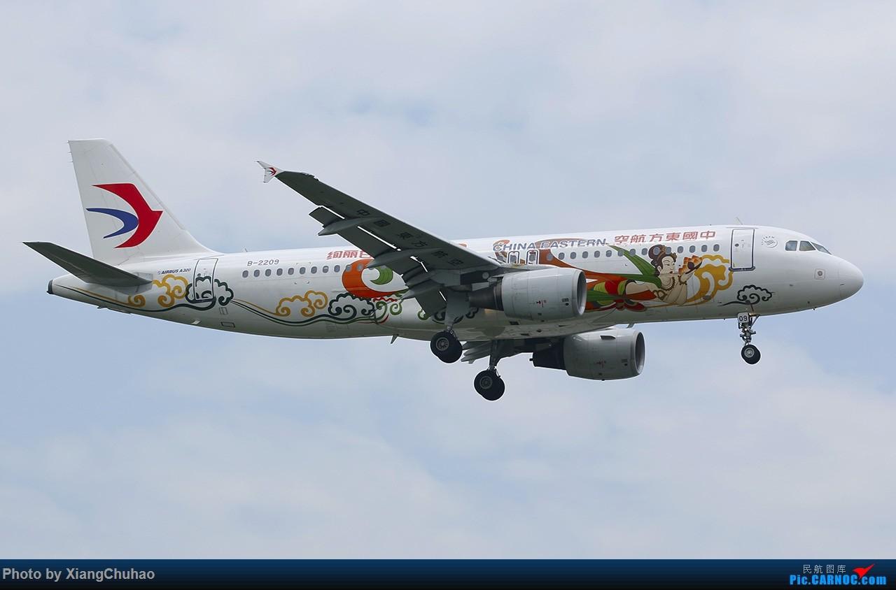 Re:[原创]东航绚丽甘肃 AIRBUS A320-200 B-2209 中国温州龙湾国际机场