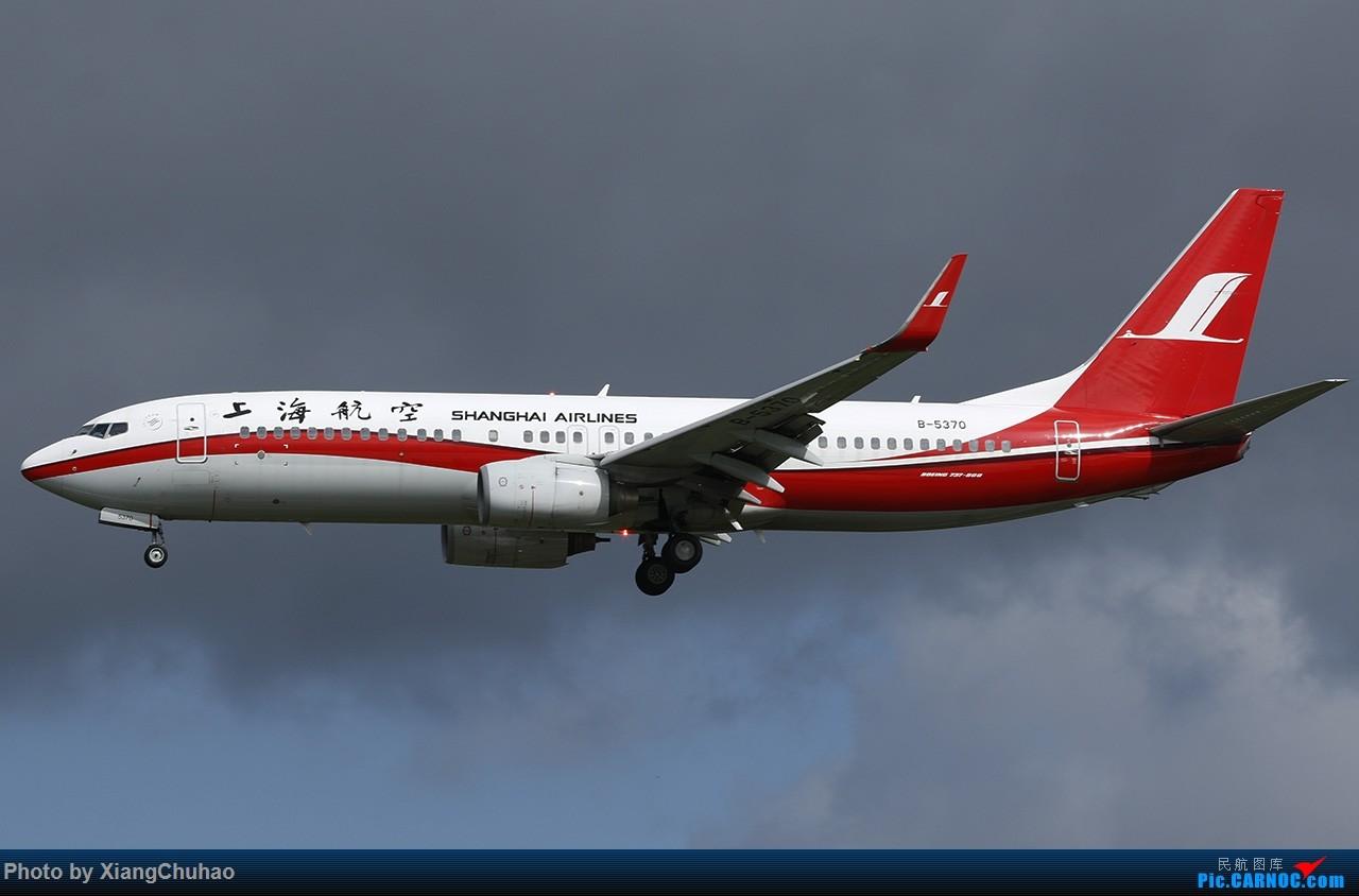 Re:[原创]上海航空 BOEING 737-800 B-5370 中国温州龙湾国际机场