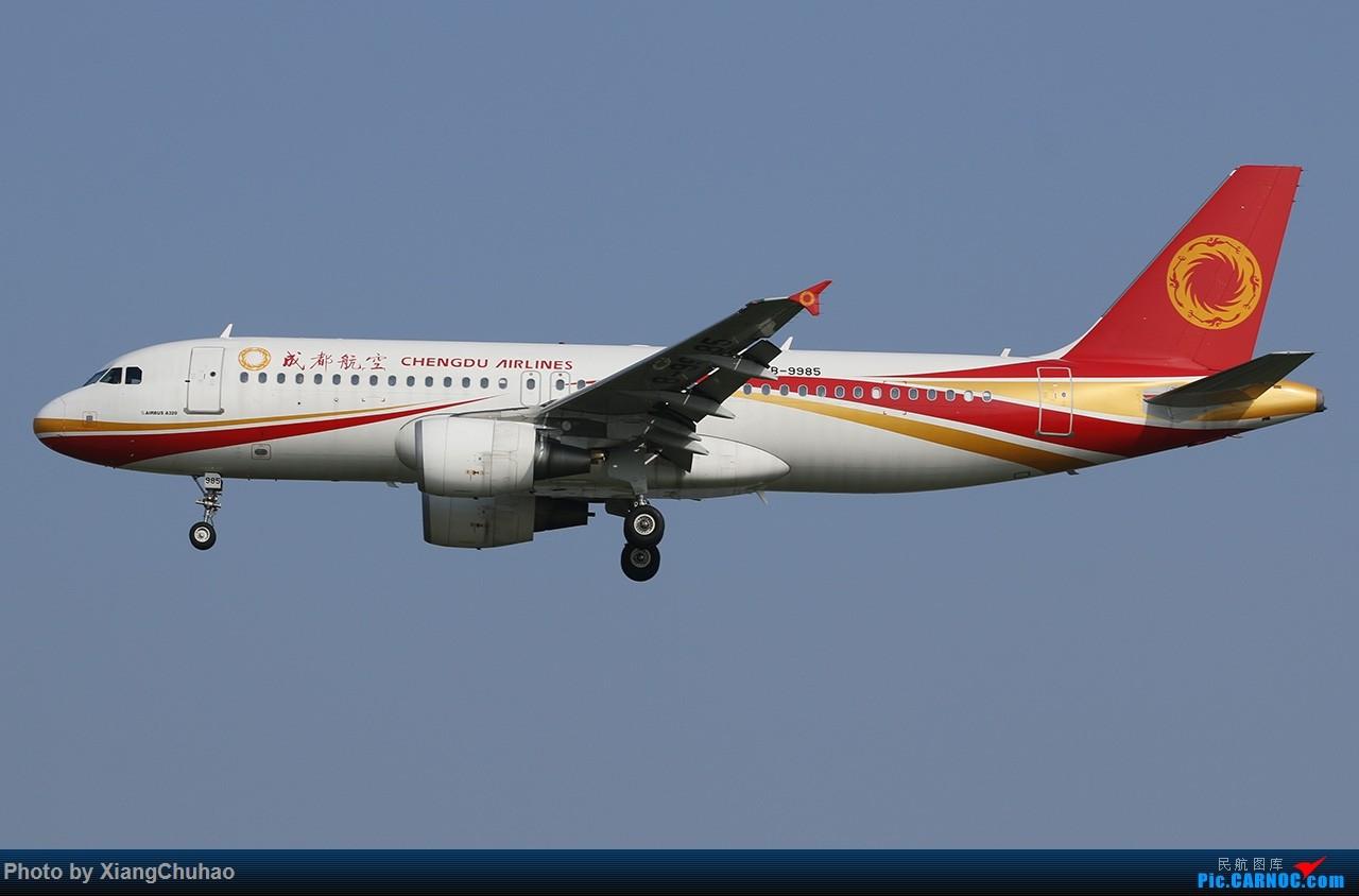 Re:[原创]成都航空 AIRBUS A320-200 B-9985 中国温州龙湾国际机场