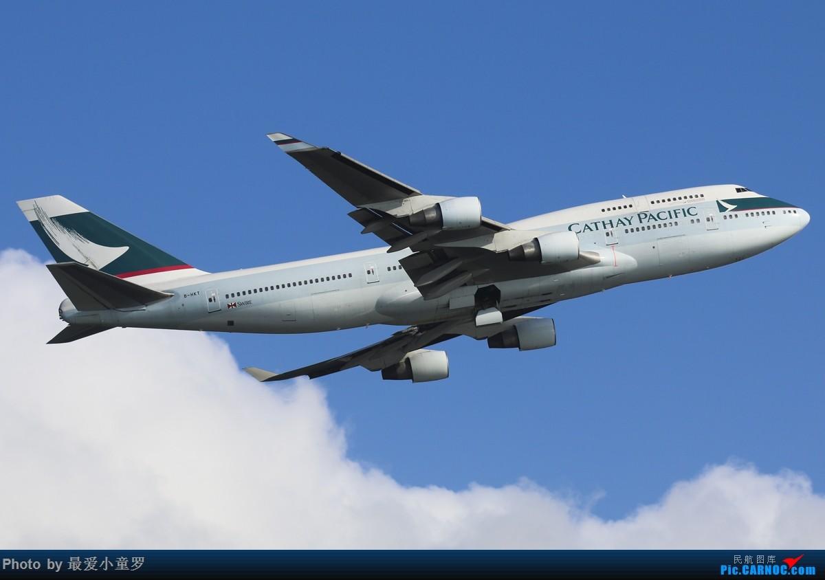 [原创]倒计时不到一个月——即将远去的国泰747-400 BOEING 747-400 B-HKT 中国香港国际机场