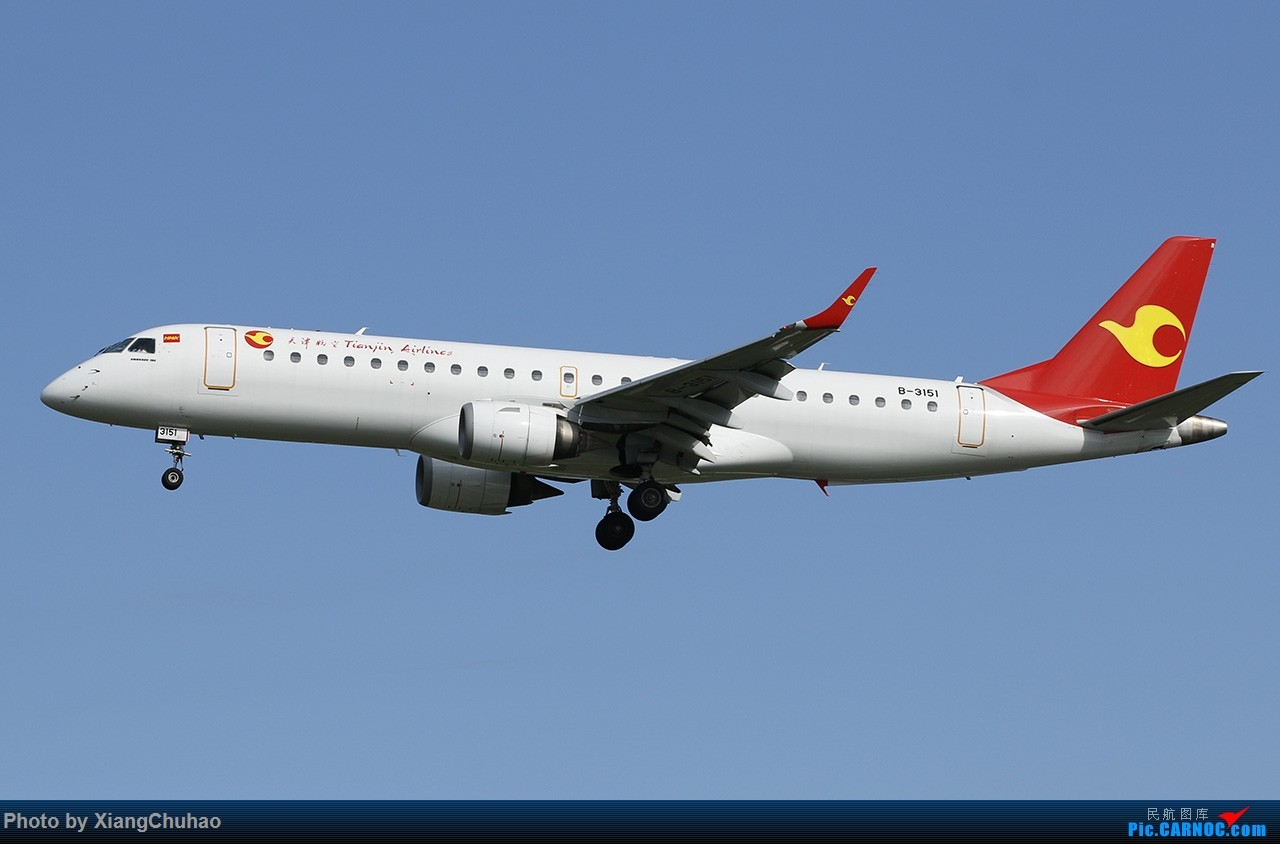 Re:[原创]天津航空 EMBRAER E-190 B-3151 中国温州龙湾国际机场