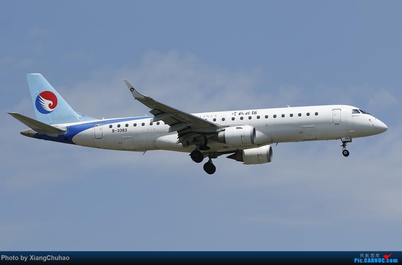 Re:[原创]河北航空 EMBRAER E-190 B-3383 中国温州龙湾国际机场